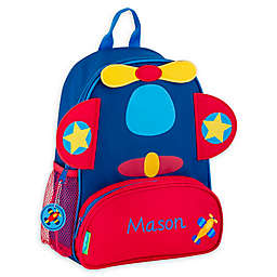 Stephen Joseph® Airplane Name Sidekick Backpack in Navy