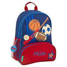Stephen Joseph® Sports Name Sidekick Backpack in Navy