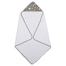 Hooded Star Towel in Grey