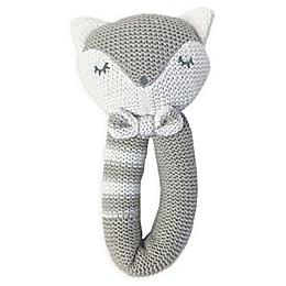 Living Textiles Charley Fox Knit Rattle