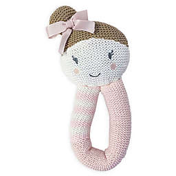 Living Textiles Amy Mermaid Knit Rattle