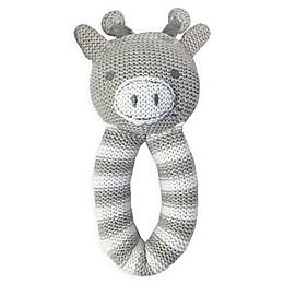 Living Textiles Finn Giraffe Knit Rattle