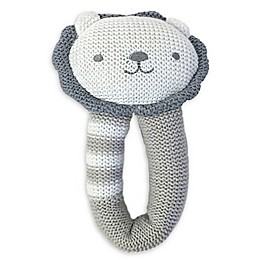Living Textiles Austin Lion Knit Rattle