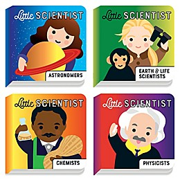 Chronicle Books Mudpuppy Little Scientist Board Book Set by Emily Kleinman