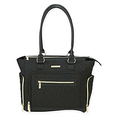 Bananafish Roxana Breast Pump Tote Bag in Black