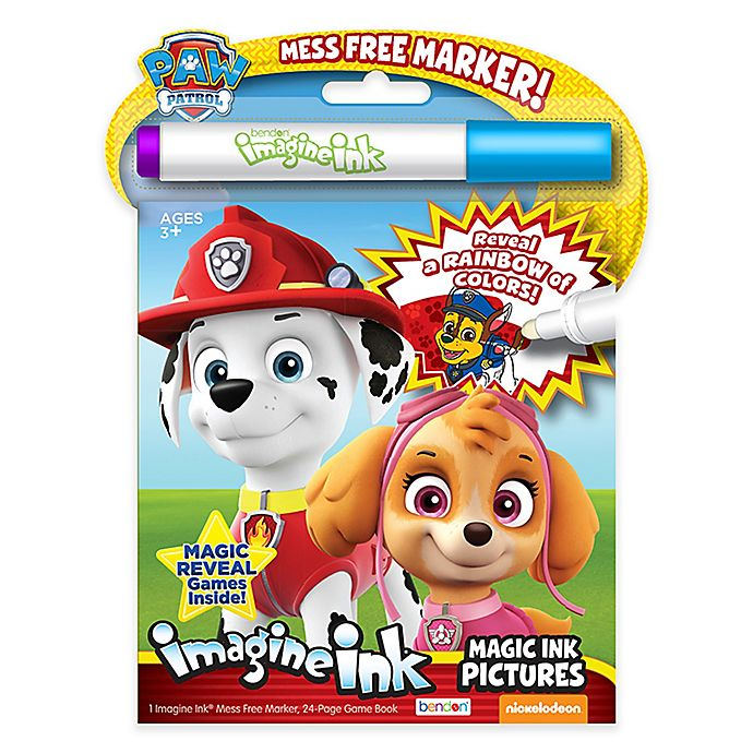 Alternate image 1 for Nickelodeon™ PAW Patrol™ Imagine Ink Magic Marker and Activity Book