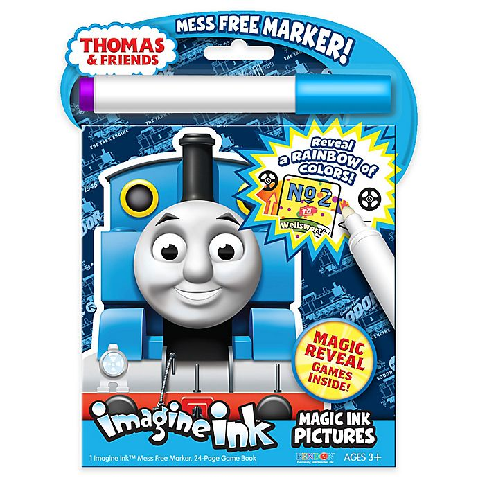 Alternate image 1 for Nickelodeon™ Thomas & Friends™ Imagine Ink Magic Marker and Activity Book