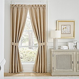 Croscill® Philomena Rod Pocket Window Curtain Panel Pair in Beige