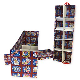 2-Tier 20-Ornament Christmas Ornament Storage Box in Burgundy