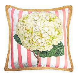 The New York Botanical Garden Hydrangea Indoor/Outdoor Square Throw Pillow