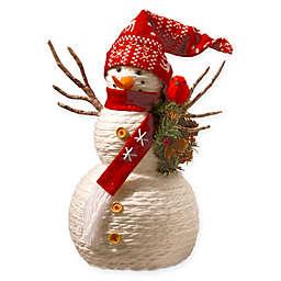National Tree Company® 19-Inch Yarn Snowman