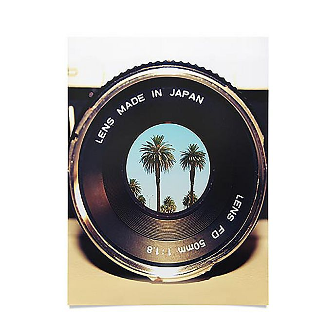 Alternate image 1 for Focus On Palms 18-Inch x 24-Inch Poster in Black