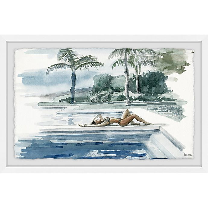 Alternate image 1 for Parvez Taj Be with the Water 24-Inch x 16-Inch Framed Wall Art