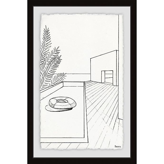Alternate image 1 for Parvez Taj Infinity Pool View 16-Inch x 24-Inch Framed Wall Art