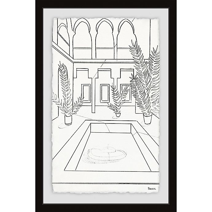 Alternate image 1 for Parvez Taj The Ultimate Pool 16-Inch x 24-Inch Framed Wall Art