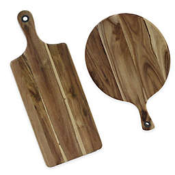Wood Cutting Board With Handle Bed