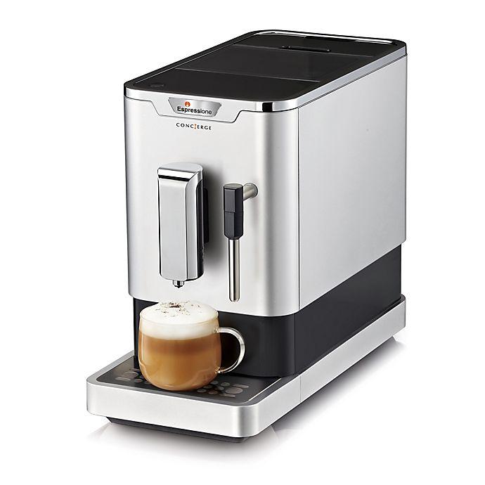 Alternate image 1 for Espressione Concierge Fully Automatic Espresso Machine in Chrome