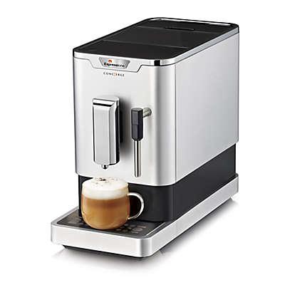 Espressione Concierge Fully Automatic Espresso Machine in Chrome