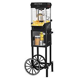Nostaglia™ Vintage 2.5 oz. Popcorn Cart in Black