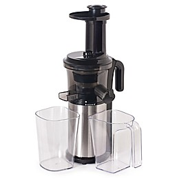 Shine 32 oz. Cold Press Vertical Slow Juicer in Black