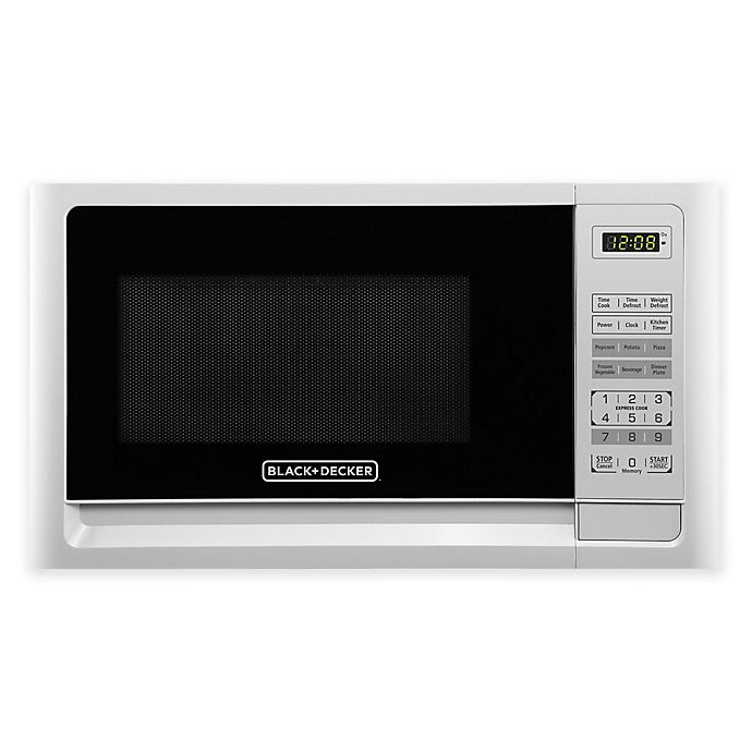 Alternate image 1 for Black & Decker™ 1.1 cu. ft. Microwaver Oven in White