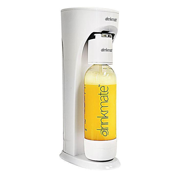 Alternate image 1 for Drinkmate Carbonated Beverage Maker in Ivory White