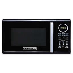 Black & Decker 0.9 cu. ft. Microwave Oven in Black