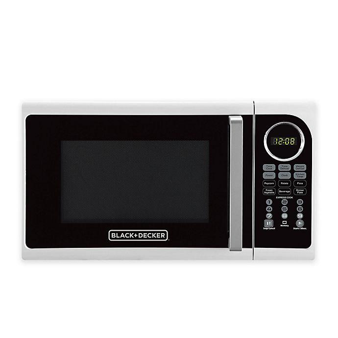 Alternate image 1 for Black & Decker 0.9 cu. ft. Microwave Oven