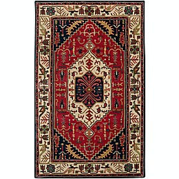 Surya Ancient Treasures Traditional Rug in Red/Blue