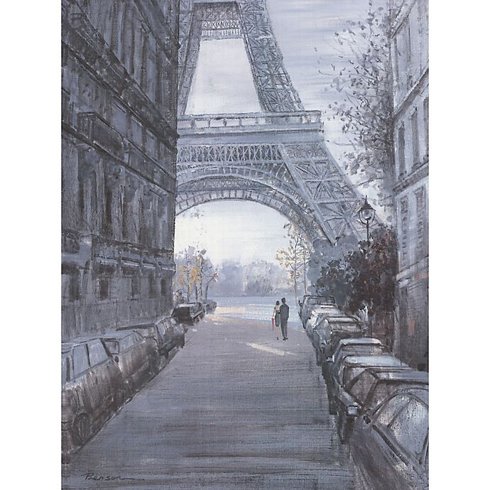 Alternate image 1 for ArtMaison Canada 30-Inch x 40-Inch Eiffel Tower I Wrapped Canvas Wall Art