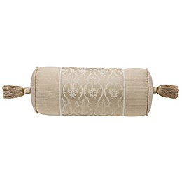Waterford® Abrielle Neckroll Throw Pillow in Champagne