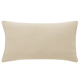 Waterford® Abrielle Oblong Throw Pillow in Champagne