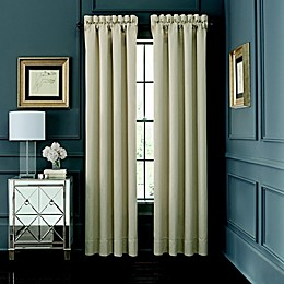 Waterford® Abrielle 84-Inch Rod Pocket Window Curtain Panel Pair in Ivory