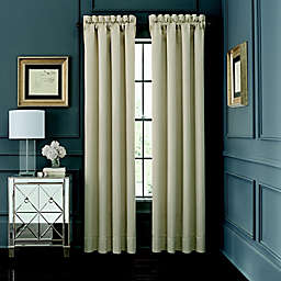 Waterford® AbriElle 2-Pack 84-Inch Rod Pocket Window Curtain in Ivory
