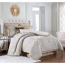 Charisma® Paloma Queen Duvet Set in Gold