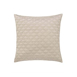 Charisma® Paloma Diamond Ogee Square Throw PIllow in Gold