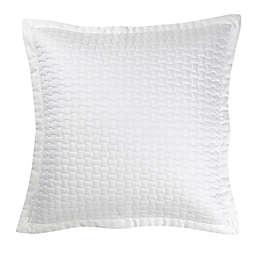 Christy Living Windsor European Pillow Sham in White