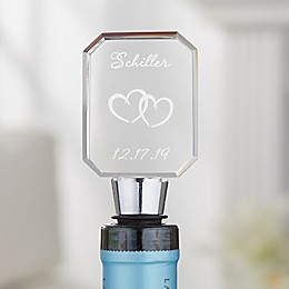 A Toast To Love Personalized Bottle Stopper