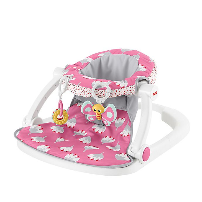 Awesome Fisher Price Sit Me Up Floor Seat In Pink Buybuy Baby Squirreltailoven Fun Painted Chair Ideas Images Squirreltailovenorg
