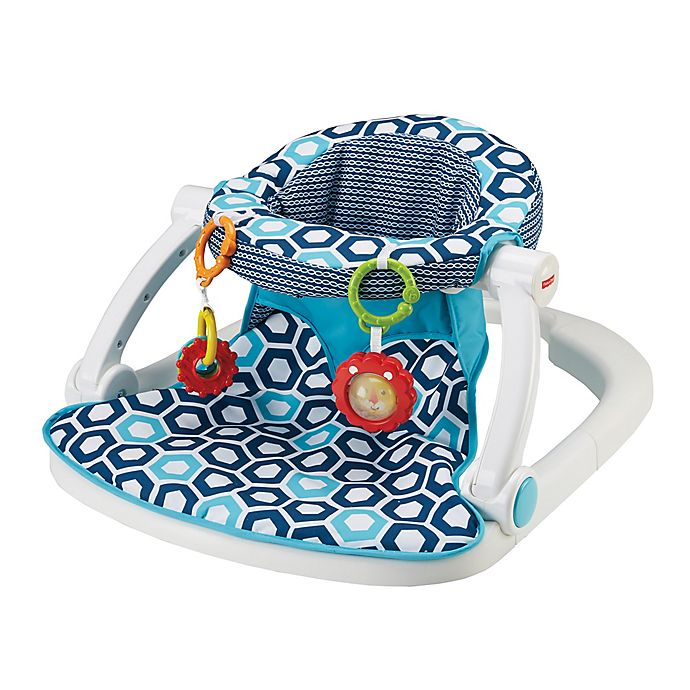 Alternate image 1 for Fisher-Price® Sit-Me-Up Floor Seat in Honeycomb
