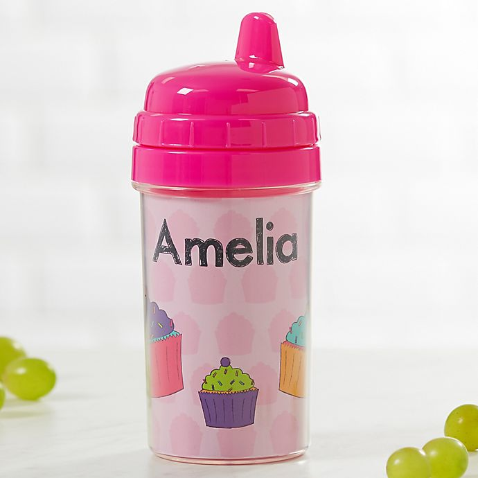 Alternate image 1 for Just For Them Personalized Sippy Cup