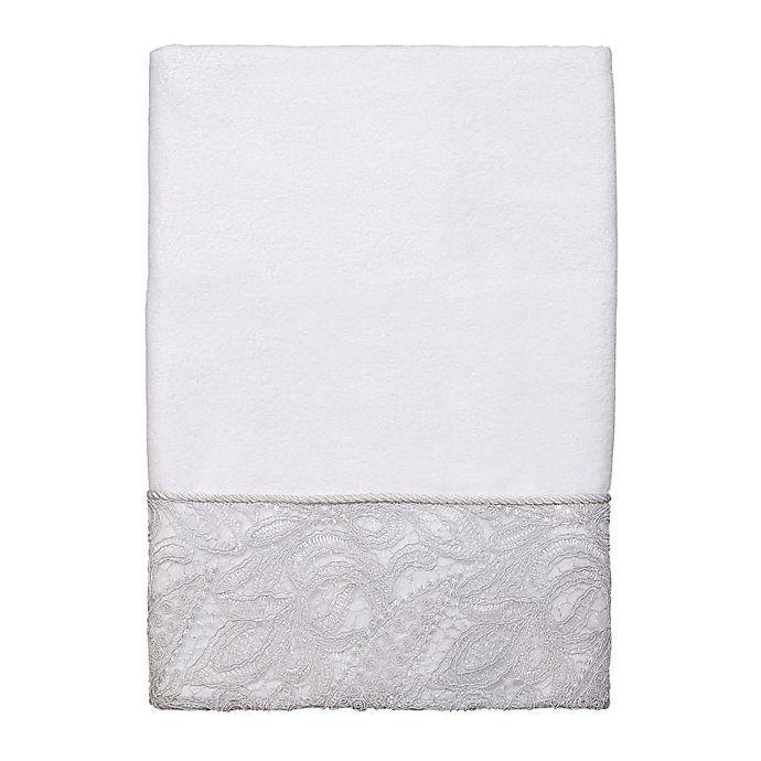 Alternate image 1 for Avanti Grace Bath Towel in White