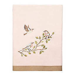 Avanti Bird Choir II Bath Towel in Pale Pink