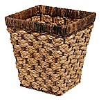 Peconic Bay Wastebasket in Natural/Brown
