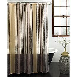 Butterflied Shower Curtain in Gold