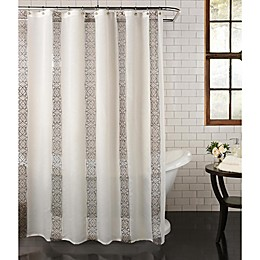 Waldorf Shower Curtain in Ivory