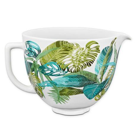 Buy Kitchenaid 174 5 Qt Ceramic Bowl In Tropical Floral From