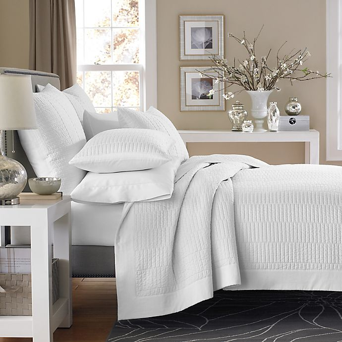 Alternate image 1 for Real Simple® Dune Reversible Coverlet