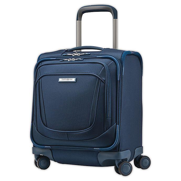Alternate image 1 for Samsonite® Silhouette 16 17-Inch Spinner Underseat Luggage in Teal