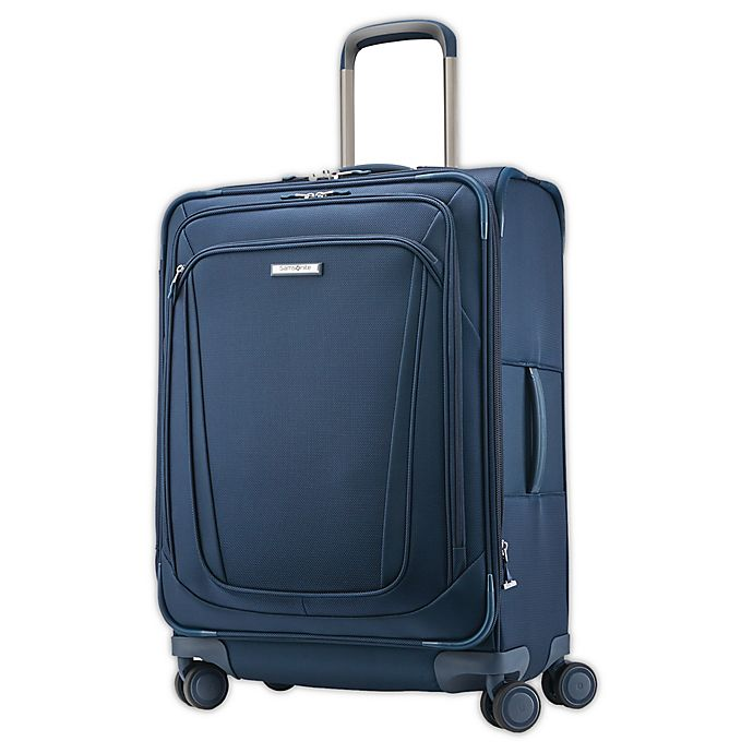 Alternate image 1 for Samsonite® Silhouette 16 26-Inch Spinner Checked Luggage in Teal
